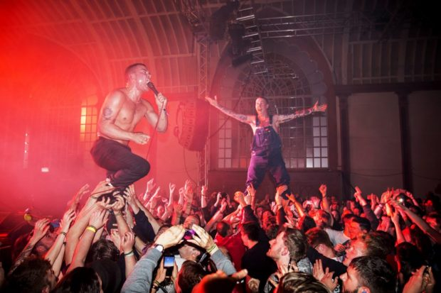Slaves at Brighton Dome, The Great Escape 2015. The Great Escape Ashley Laurence Photographs