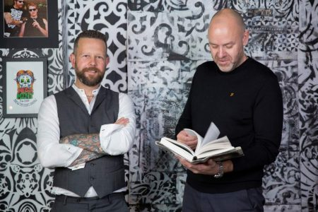 Bruce Dickinson and Adam Bushell, founders at WaterBear, Brighton