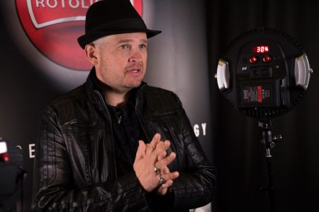 Jason Lanier interview at Rotolight event, Pinewood Studios