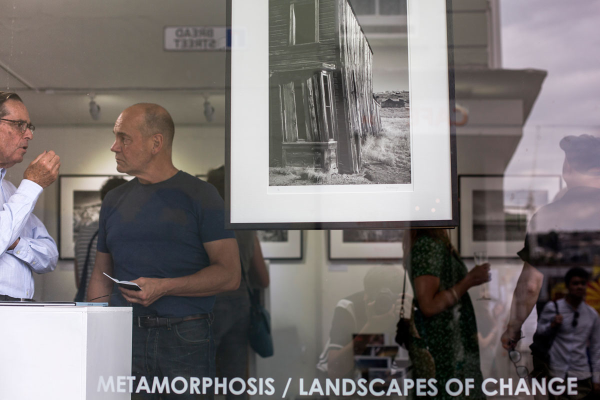 John Brockliss, exhibition launch 35 Gallery North, interview for Brighton Source
