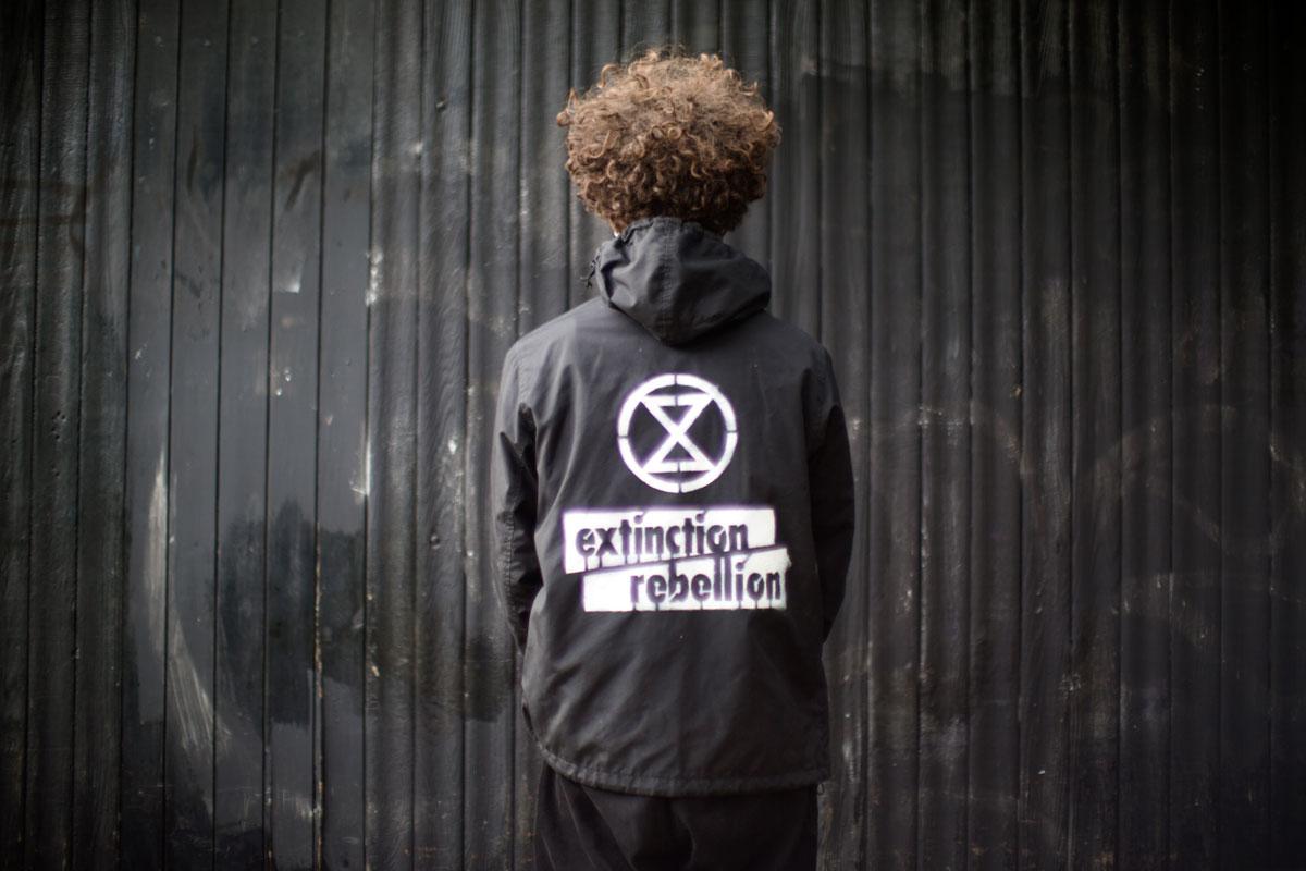 Rowan Reddington, Extinction Rebellion, Brighton 2019