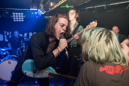 The Blinders at Sticky Mike's Frog Bar, Feb 2018. Shot for Brighton Source