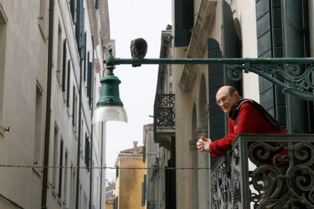 Man & Pigeon, Venice, Street Photography