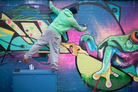 Street-Art---Brighton---Time-for-Heroes-Photography Ashley Laurence
