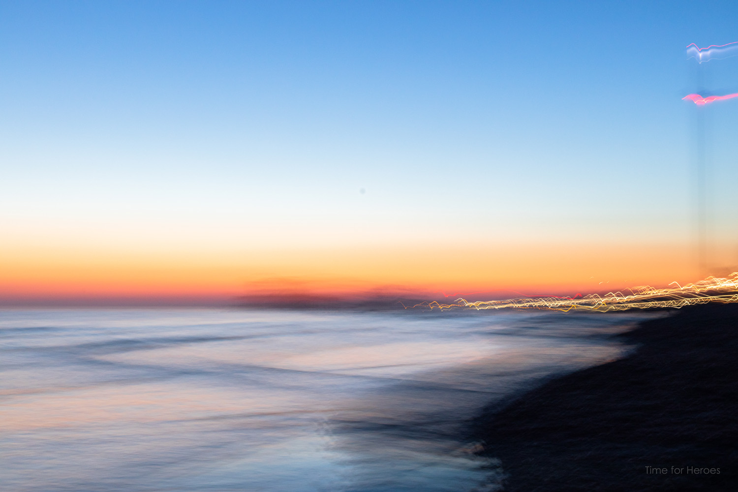 ICM Saharan Seafront sunset 3 - Brighton - Ashley Laurence - Time for Heroes Photography