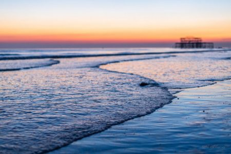 Saharan Seafront sunset 3 - Brighton - Ashley Laurence - Time for Heroes Photography
